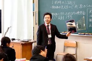 東久留米市立久留米中学校 教諭 理科担任 池森泰啓 氏