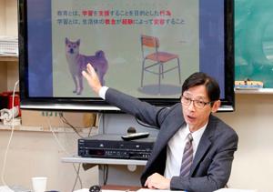 全国中学校理科教育研究会支援センター 代表理事 高畠勇二 氏