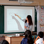 ICTを効果的に活用した算数授業(vol.1)板書、発問等の指導技術とICTが融合し、学びを深める ―土浦市立右籾小学校― 前編