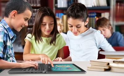 米国の教育市場で急速に普及しだしたChrome Book(画像は、ASUS JAPAN (株)より)