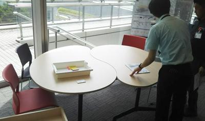 「ミーティング(R)テーブルFT-1600シリーズ」