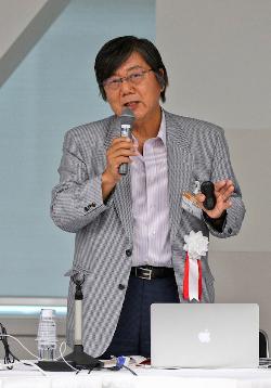 富山大学 名誉教授、日本教育工学会 前会長 山西潤一氏