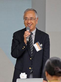 杉並区教育委員会 教育長 井出隆安氏