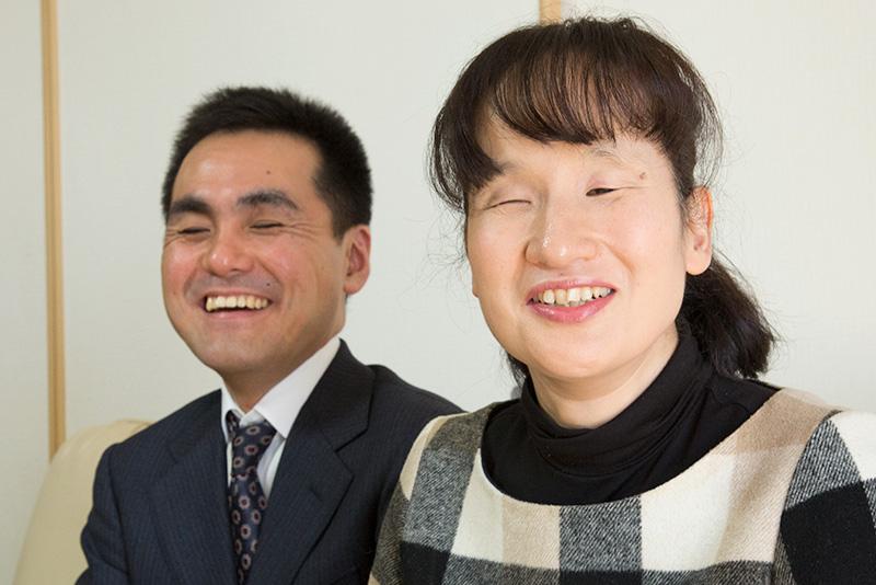 大胡田夫妻の写真