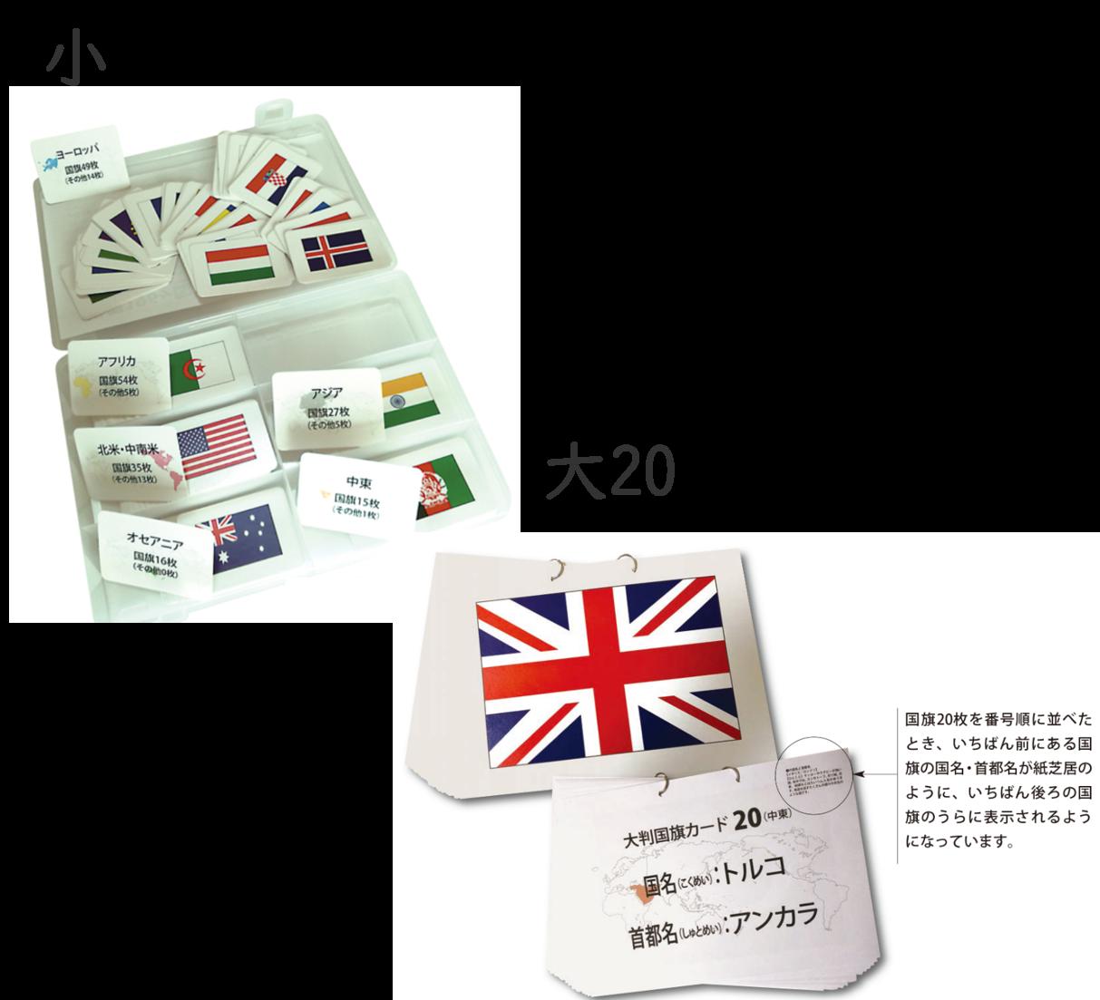 国旗カード セット