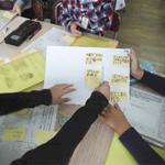 国語授業で防災学習をスタート(リポート3)