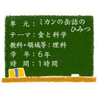ミカンの缶詰のひみつ【食と科学】[小6・理科]