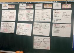 班ごとに調べた、各月の旬や行事に関係する料理