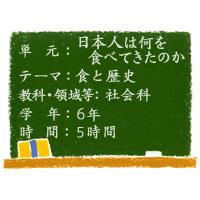 日本人は何を食べてきたのか【食と歴史】[小6・社会科]その3