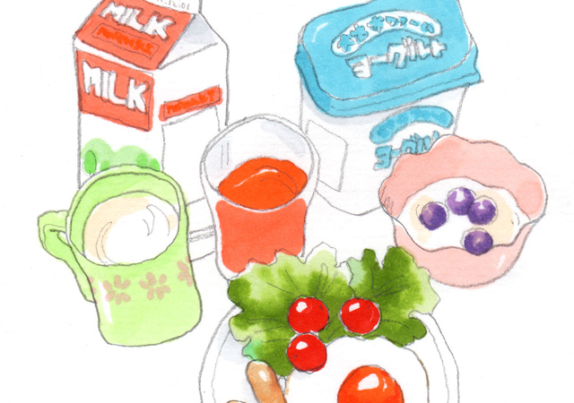 PROGRAM4 The Pillow~Our Ideal Breakfast~【食と栄養】[中2・英語]