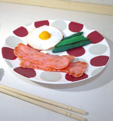 生徒達が作った食品サンプル3