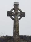 「ケルティッククロス」と呼ばれるアイルランド特有の十字架。